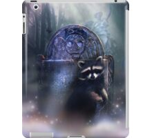Raccoon Spirit iPad Case/Skin