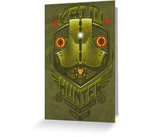 Kaiju Hunter Cherno Greeting Card