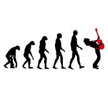 Rock Evolution Photographic Print