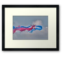 And Breeeak !!! Red Arrows - Dunsfold 2013 Framed Print