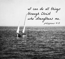 Philippians 4:13 All Things by Kimberose