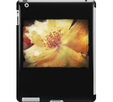 Antique Look Yellow Flower in Summer Sun iPad Case/Skin