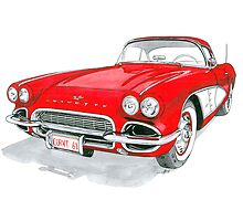 61 Corvette by Anthony Billings