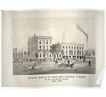 Allan Hay & Co.'s Soap & Candle Works Poster