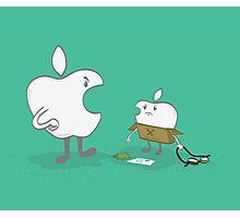 Apple dad Photographic Print
