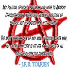 Anarchy; J. R. R. Tolkien by TOM HILL - Designer