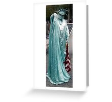 Kiss on a Hand of a Lady..? Greeting Card