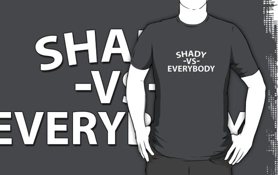 Shady VS Everybody - White Text by CalumCJL