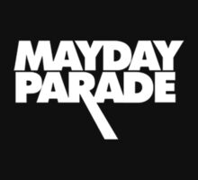 Mayday Parade Logo in White by lukehemmings