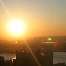 Sunset in New York by BethXP