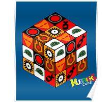 Kubrick Cube Poster
