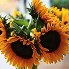 Sunflower Bouquet by autumnwind