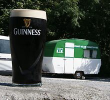 Craggy Island Tourist Bureau and a Pint by Allen Lucas