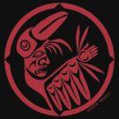 Trickster Raven Transformation  by Mark Gauti