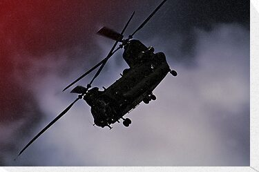 Chinook - Night Flight ! by Colin J Williams Photography