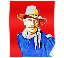 John Wayne in Rio Grande Poster