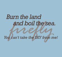 Burn the Land T-Shirt