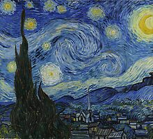 Starry Night (Huge) by jmirvish