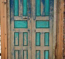 Santa Fe Door by Giamarie