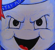 stay puft marshmellow man gostbusters villain by gjniles