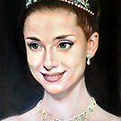 Princess Anna in Roman Holiday by Hidemi Tada