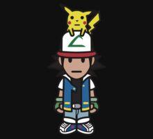 Ash Ketchum and Pikachu! Kids Clothes