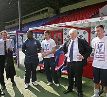 Boris Johnson visits Crystal Palace Football Club Foundation by Keith Larby