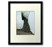 Stairs, Falmouth Framed Print