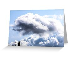 CLOUDS OVER THE PDC 1 Greeting Card