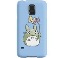 Totoro Flowers Samsung Galaxy Case/Skin