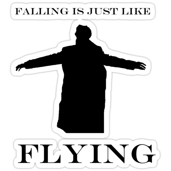 Falling is just like flying - Sherlock by ShireLocked