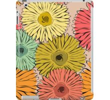 Colorful vintage abstract sunflower iPad Case/Skin