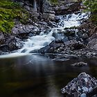 Old Mill and Waterfall by HuntrRose