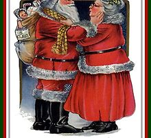 To Grandma and Granded Mr and Mrs Claus Christmas Card by taiche