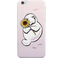 Sunny Manatee iPhone Case/Skin
