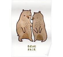 Bear Pair Poster
