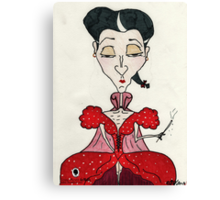 Mrs Joze Mont Canvas Print