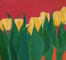 Yellow Tulips by trinabird