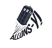 """Allons-y !"" - The Doctor Photographic Print"