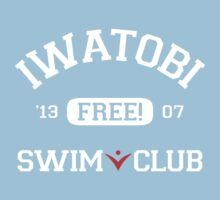 Iwatobi Swim Club Uniform Kids Clothes