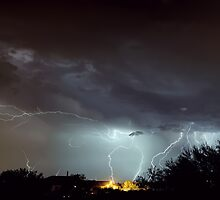 The Monsoon Storm After the Dust Storm I by HDTaylor