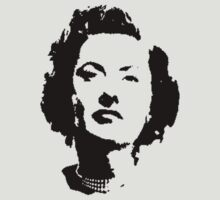 Barbara Stanwyck Has That Guilty Look T-Shirt by Museenglish