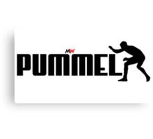 PUMMEL Canvas Print