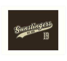 The Gunslingers Art Print