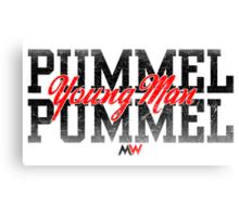 Pummel Young Man Pummel Canvas Print