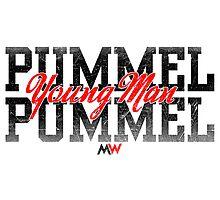 Pummel Young Man Pummel Photographic Print