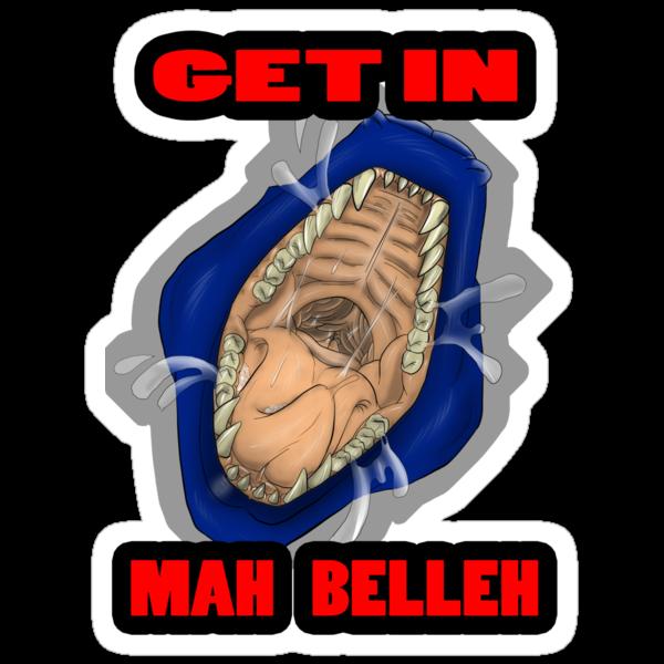 Get In Mah Belleh Blue by Gothyk