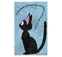 Jiji The Cat Photographic Print