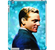 James Cagney, blue screen iPad Case/Skin