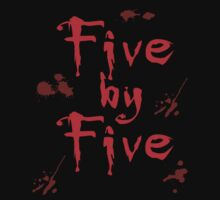 Five by Five Buffy The Vampire Slayer by geekchicprints